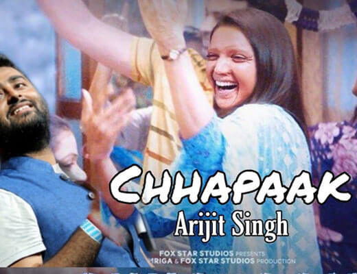 Chhapaak–Arijit Singh-Lyrics
