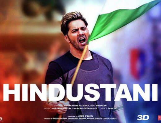 Hindustani - Street Dancer 3D - Lyrics