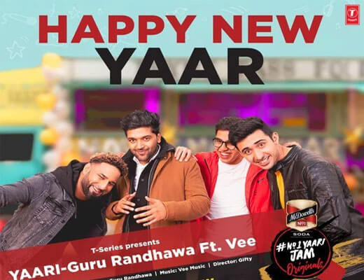 Yaari (Happy New Yaar)-Guru Randhawa-Lyrics