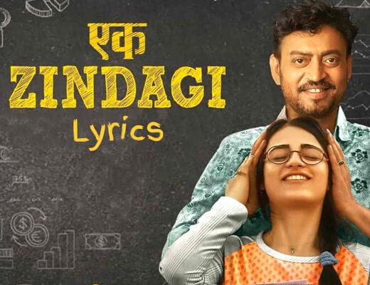 Ek-Zindagi-Lyrics---Angrezi-Medium