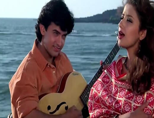 Raja-ko-rani-se-Lyrics-Akele-hum-Akele-tum-Hindi-lyrics