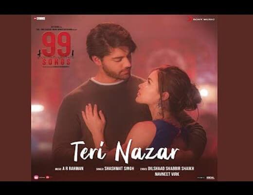 Teri-Nazar-Lyrics---99-Songs