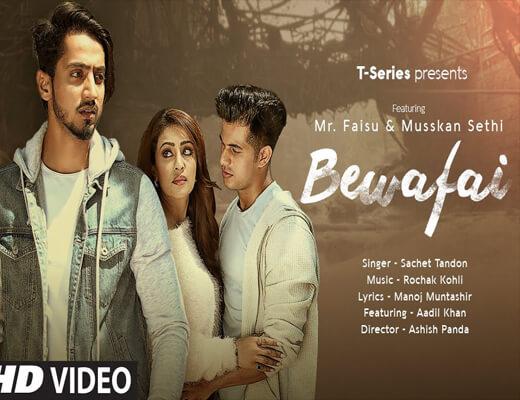 Bewafai---Sachet-Tandon--Lyrics-In-Hindi