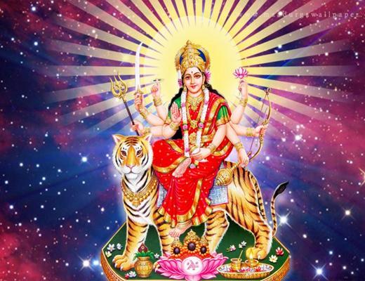 Durga-Mata-Aarti---Lyrics-In-Hindi