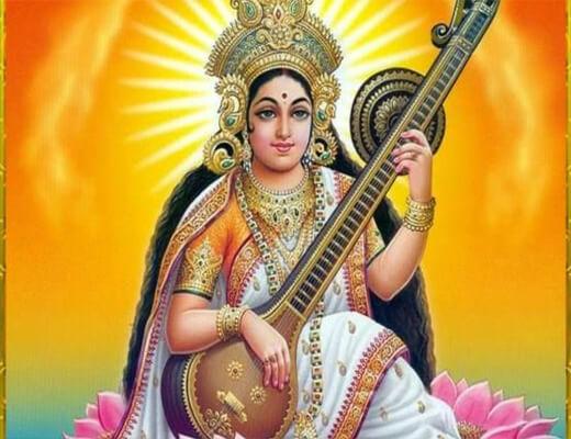 Jai-Saraswati-Mata-Aarti---Lyrics-In-Hindi