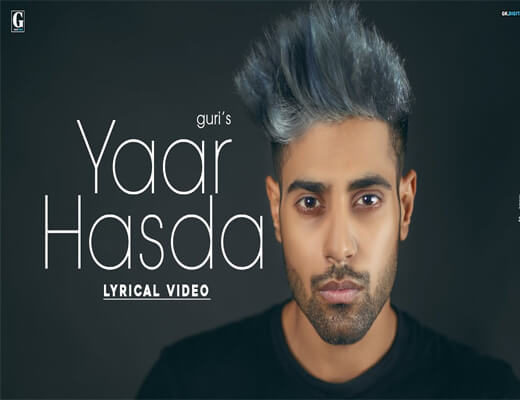 Yaar-Hasda---Guri----Lyrics-In-Hindi