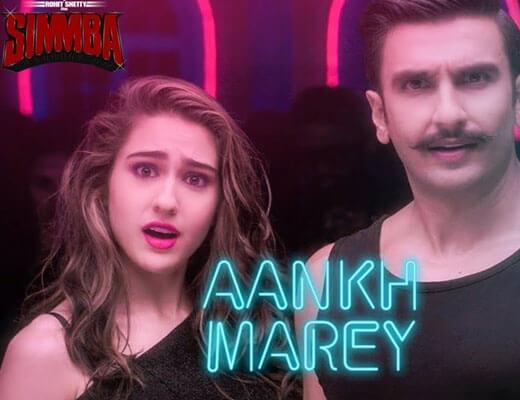 Aankh Marey lyrics - Simmba
