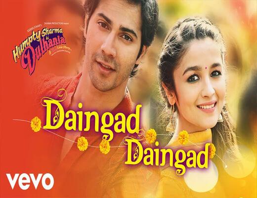 Daingad-Daingad---HSKD---Lyrics-In-Hindi