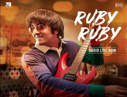 Ruby Ruby Lyrics - Sanju - A. R. Rahman