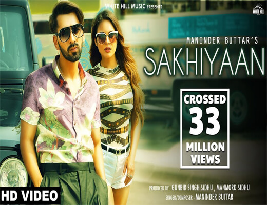 Sakhiyaan---Maninder-Buttar---Lyrics-In-Hindi