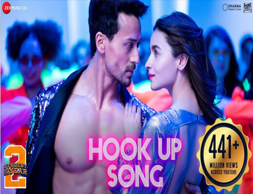 The-Hook-Up-Song---Student-Of-The-Year-2---Lyrics-In-Hindi