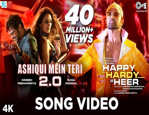 Aashiqui-Mein-Teri-2.0---Happy-Hardy-And-Heer---Lyrics-In-Hindi
