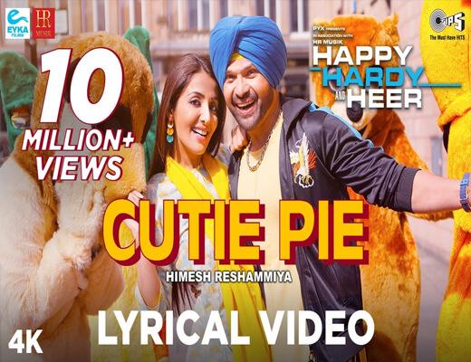 Cutie-Pie---Happy-Hardy-&-Heer---Lyrics-In-Hindi