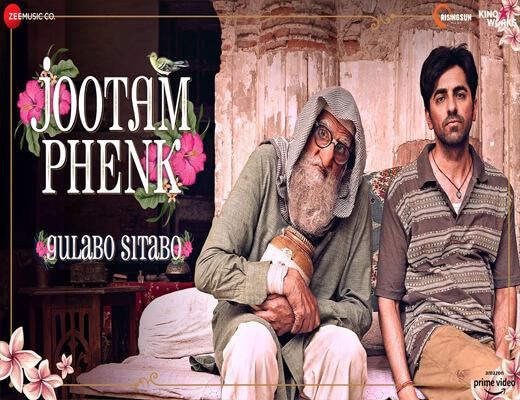 Jootam-Phenk---Gulabo-Sitabo---Lyrics-In-Hindi
