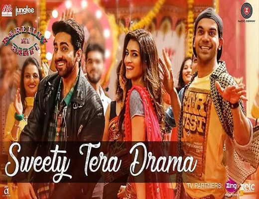 Sweety-Tera-Drama---Bareilly-Ki-Barfi---Lyrics-In-Hindi