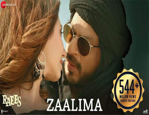 Zaalima---Raees---Lyrics-In-Hindi