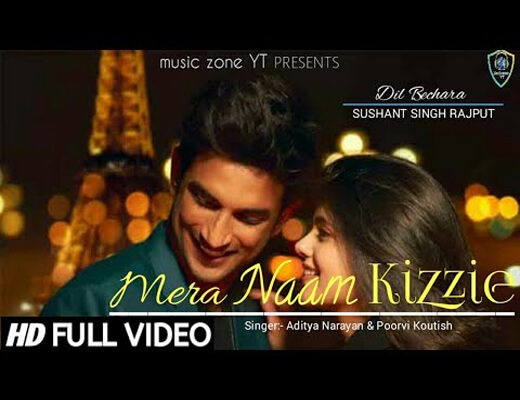 Mera-Naam-Kizzie---Dil-Bechara---Lyrics-In-Hindi