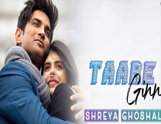 Taare-Ginn---Dil-Bechara---Lyrics-In-Hindi