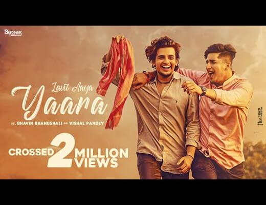 Yaara---Suraj-Chauhan---Lyrics-In-Hindi