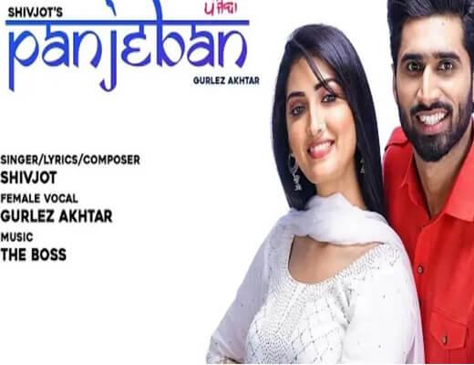 Panjeban Lyrics – Shivjot, Gurlez Akhtar