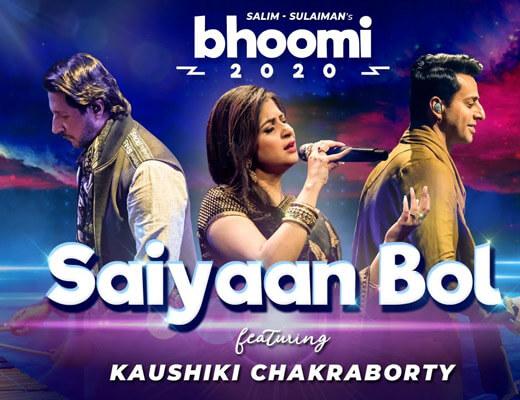 Saiyaan Bol Lyrics – Bhoomi 2020
