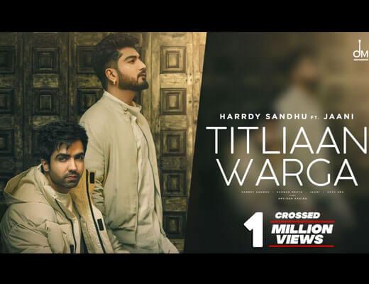 Titliaan Warga Lyrics – Harrdy Sandhu