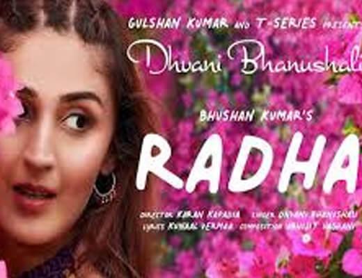 Radha Song Lyrics – Dhvani Bhanushali