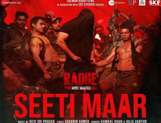 Seeti Maar Lyrics – Salman Khan Radhe
