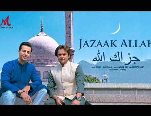 Jazaak Allah Lyrics - Javed Ali, Salim Merchant