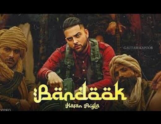 Bandook Lyrics – Karan Aujla