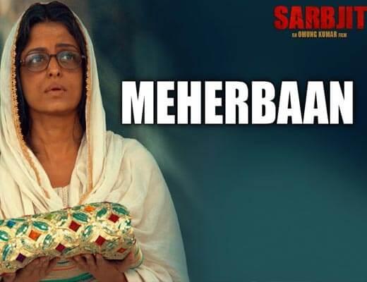 Meherbaan Lyrics - Sarbjit