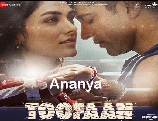 Ananya lyrics – Toofaan Arijit Singh