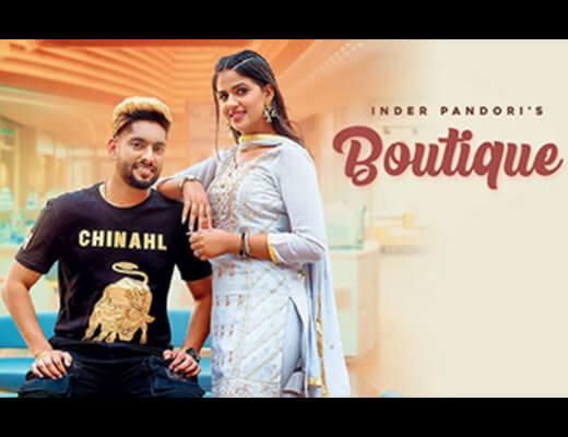 Boutique Lyrics – Inder Pandori