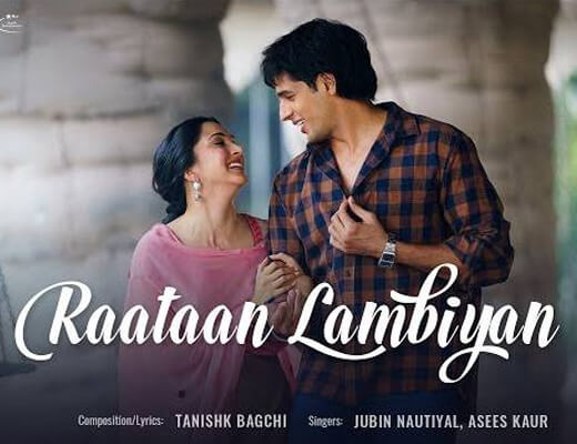 Raataan Lambiyan Lyrics – Jubin Nautiyal