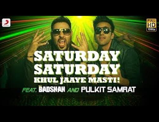 Saturday Saturday (Khul Jaaye Masti) Lyrics - Badshah