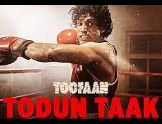 Todun Taak Lyrics – Toofaan