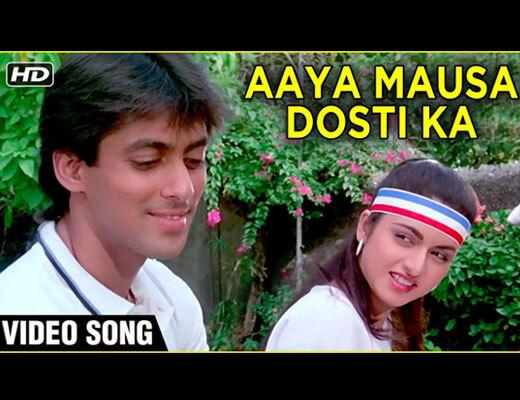 Aaya Mausam Dosti Ka Lyrics – Maine Pyar Kiya (1989)