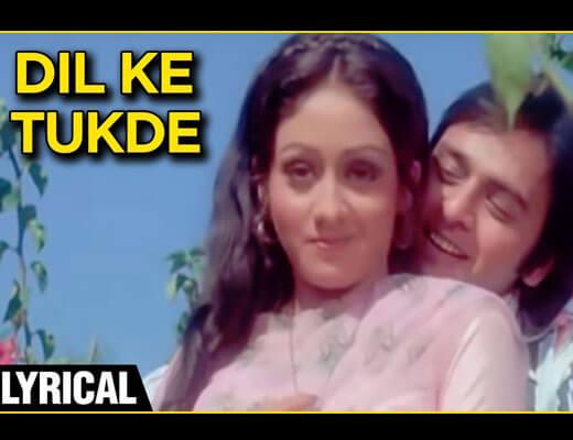 Dil Ke Tukde Tukde Karke Lyrics - Dada (1979)