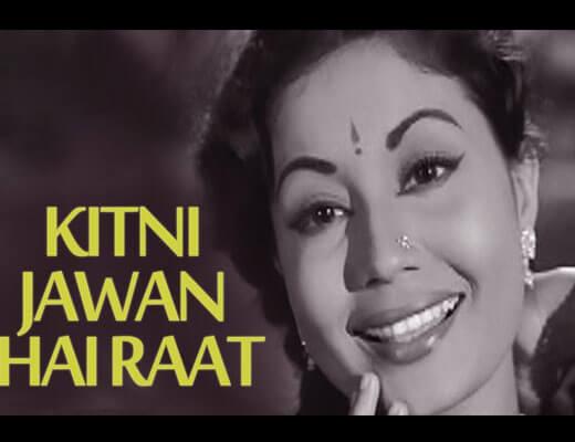 Kitni Jawan Hain Raat Lyrics – Azad