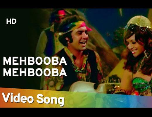 Mehbooba Mehbooba Lyrics - Sholay