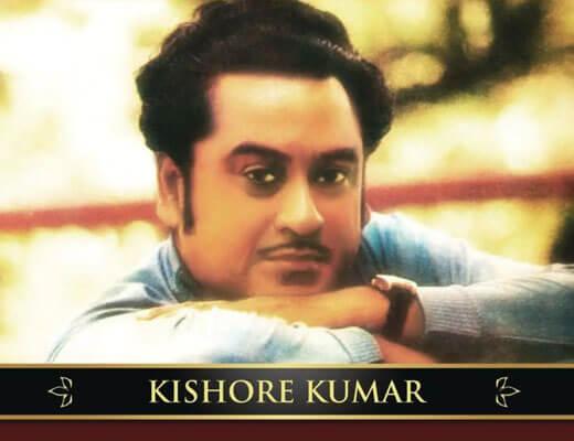 Neele Neele Ambar Par Lyrics – Kishore Kumar