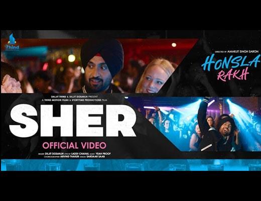 Sher Lyrics - Honsla Rakh